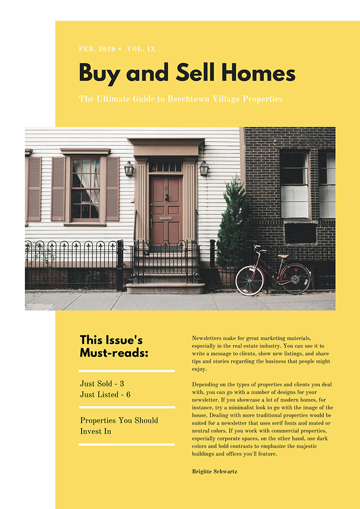 simple-white-and-yellow-real-estate-newsletter