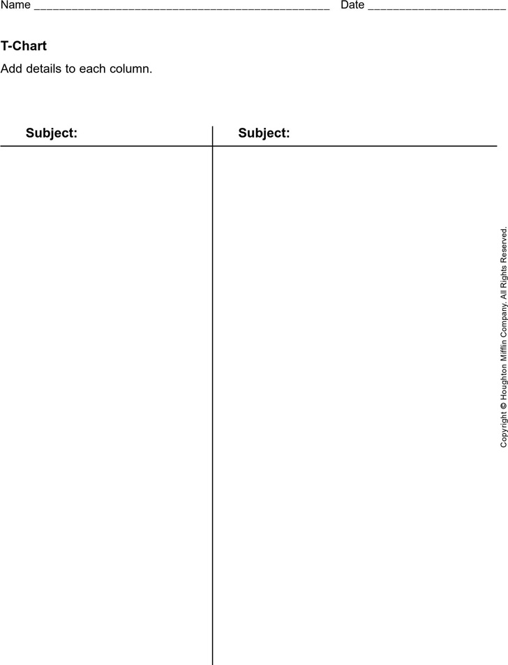 t-chart-template-1