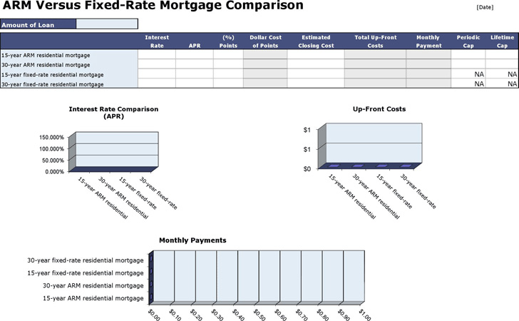arm-vs-fixed-mortgage-rate-comparison