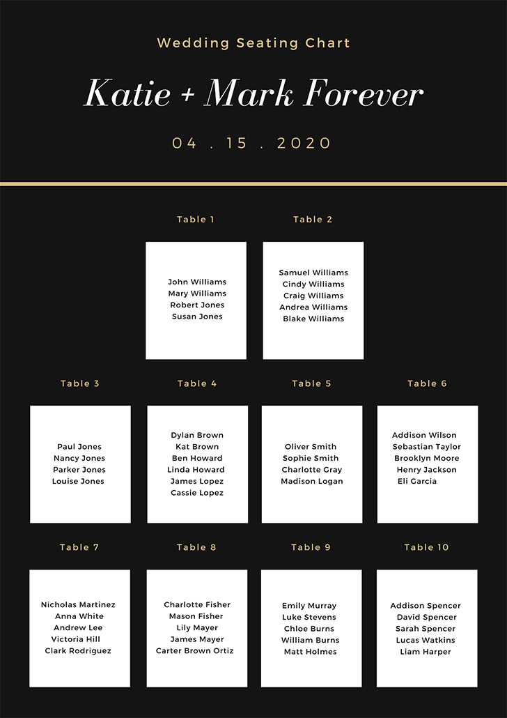 black-and-white-simple-elegant-seating-chart