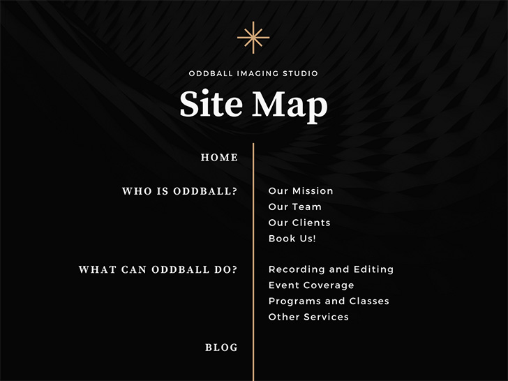 black-brown-photo-minimalist-site-map-chart