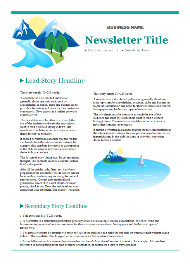 company-newsletter