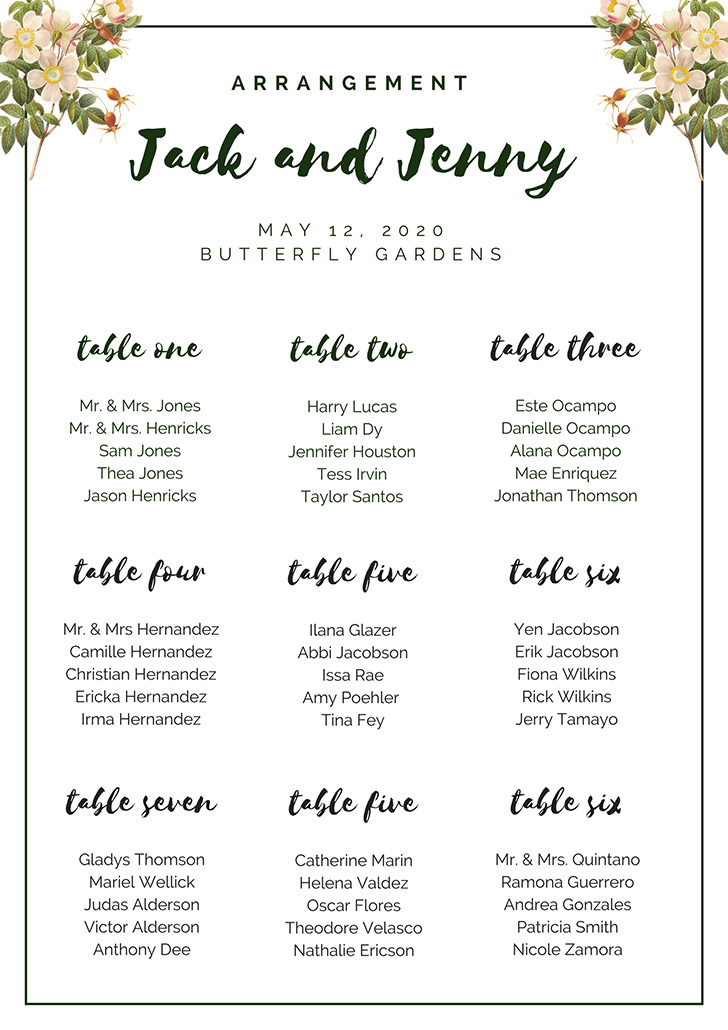 dark-green-and-white-flowers-seating-chart