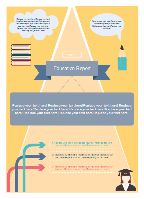 education-bulletin-infographics