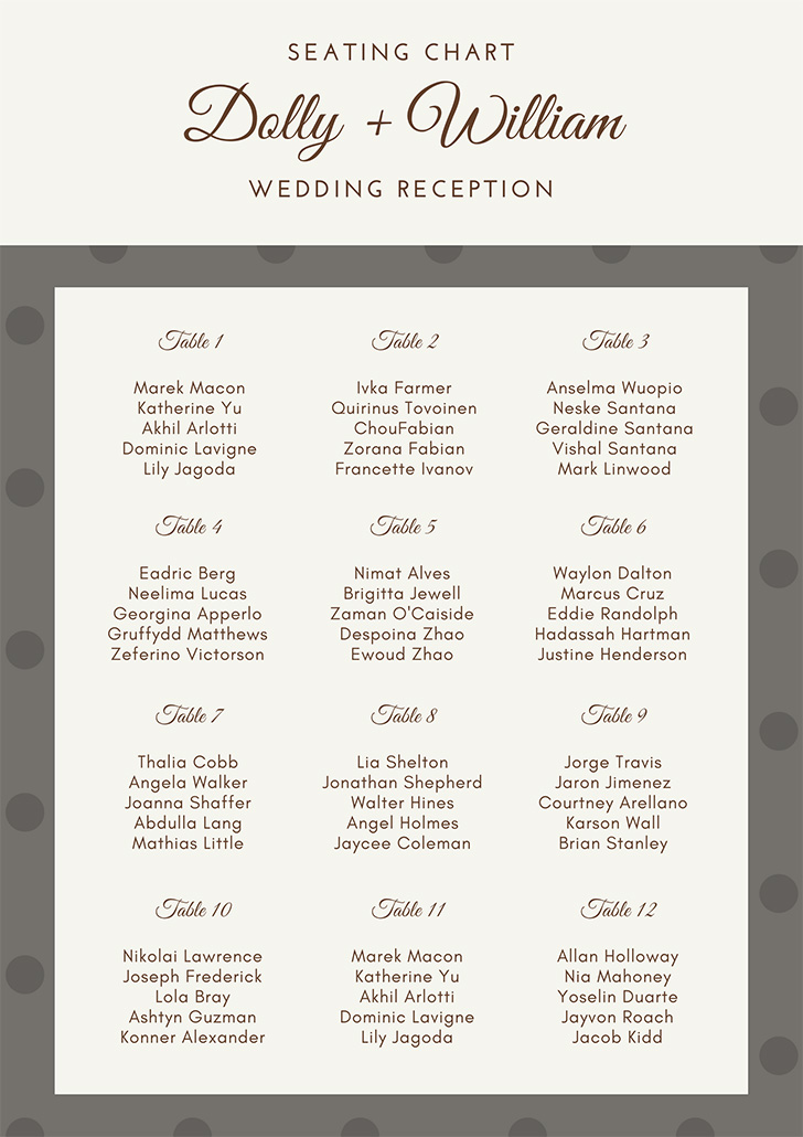 elegant-pattern-wedding-seating-chart