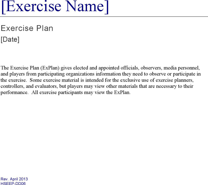 exercise-plan-template