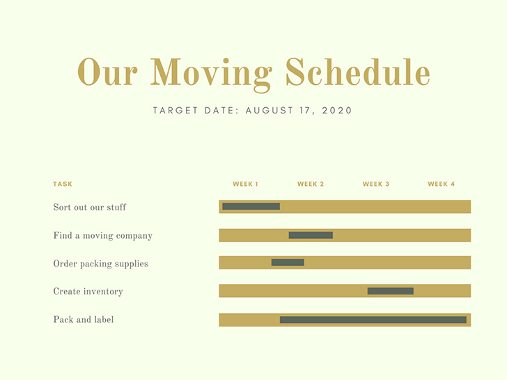 green-and-gold-simple-gantt-chart
