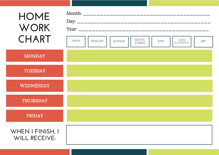 green-blue-orange-homework-reward-chart