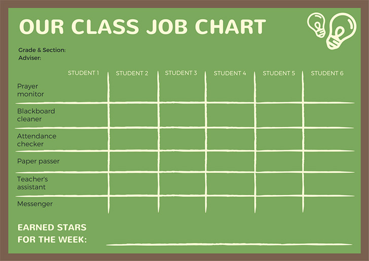 green-classroom-reward-chart