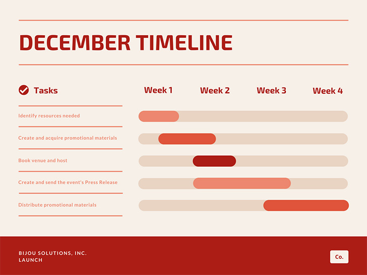 orange-red-simple-gantt-charts