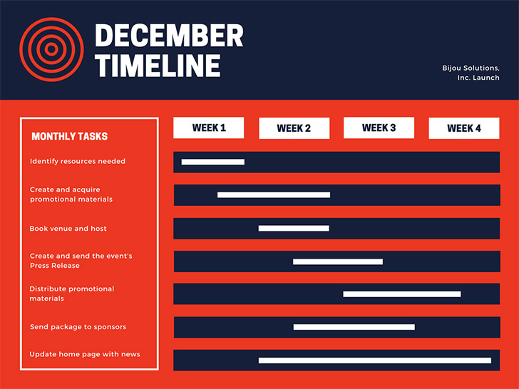 red-navy-corporate-gantt-charts