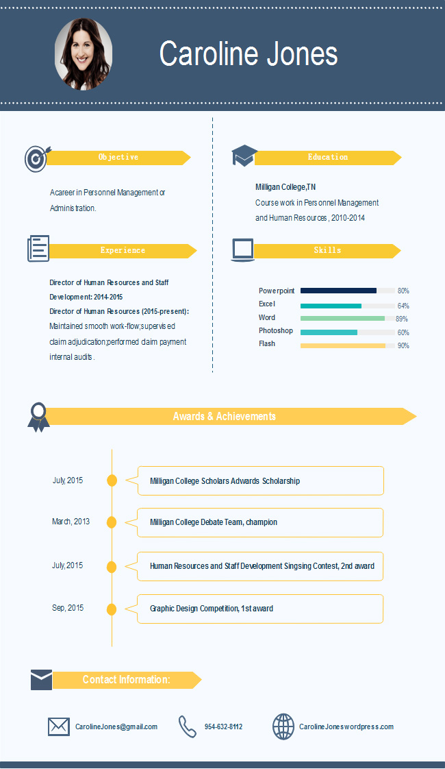 simple-infographic-resume