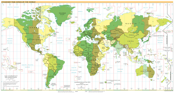 standard-time-zones-of-the-world