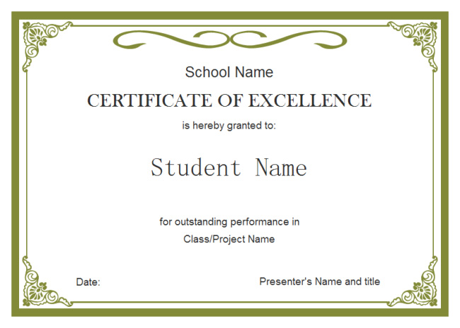 student-certificate