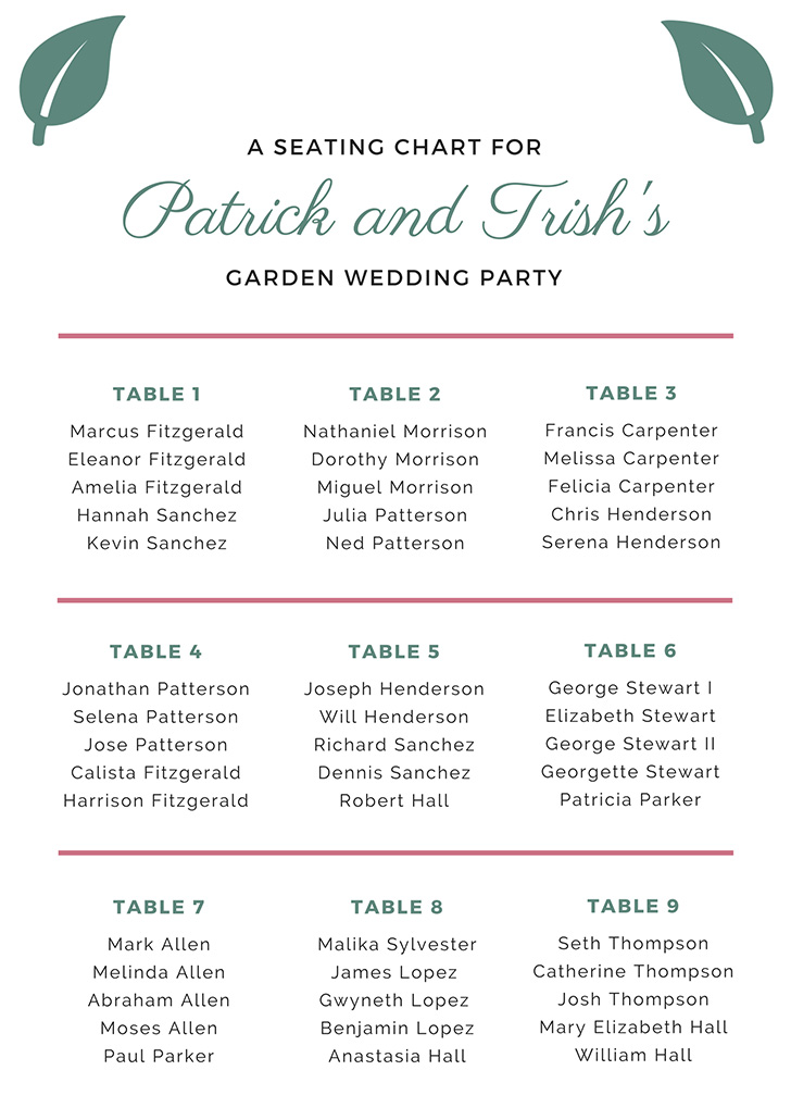 teal-and-violet-wedding-seating-chart