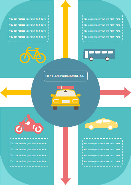 transportation-report-infographics