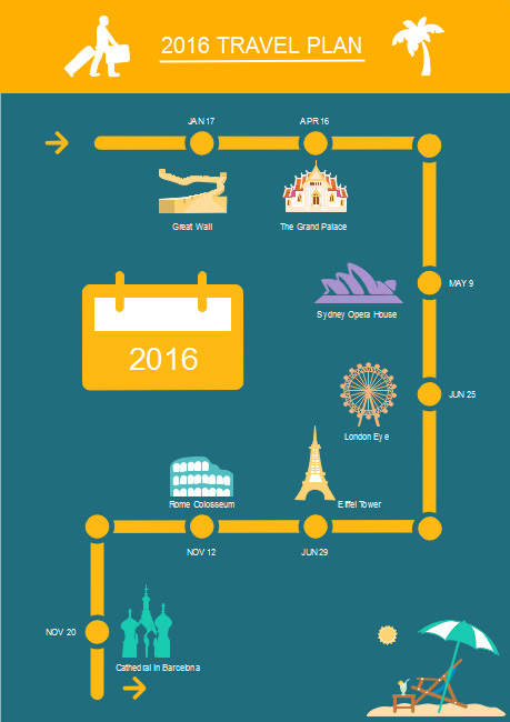 travel-plan-infographics